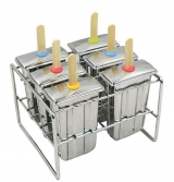 <h5>Onyx Stainless Steel Popsicle Mold</h5>