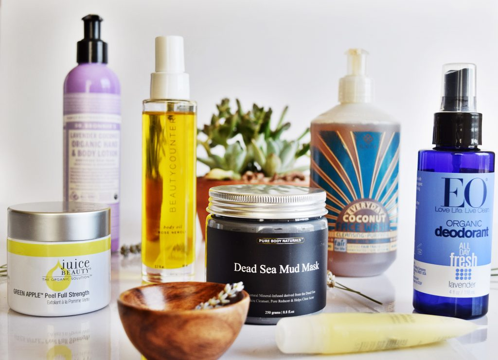 7 NATURAL BATH AND BEAUTY PRODUCTS