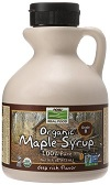 Now Foods Organic Maple Syrup, Grade A, Dark Color
