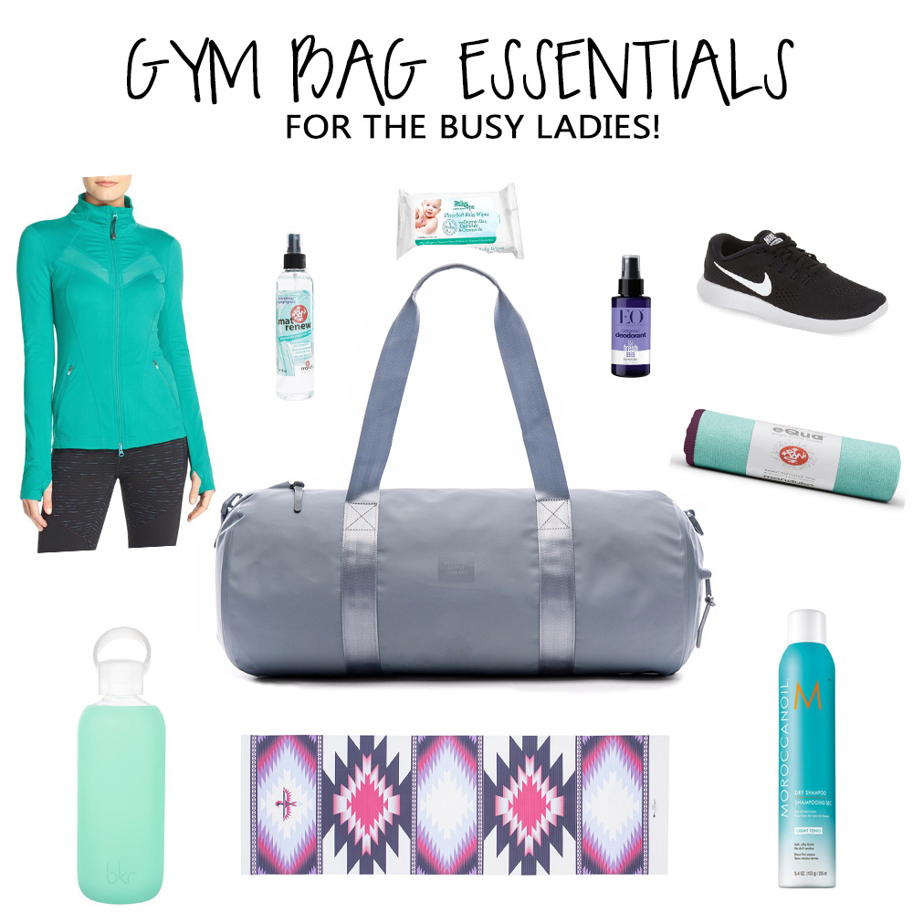 GYM BAG ESSENTIALS FINAL